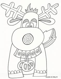 468 Best Winter and Christmas Coloring Pictures images in