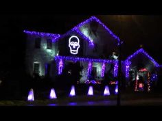 Hardcore Holiday Decor: Party Rock Halloween Light Show | Party ...