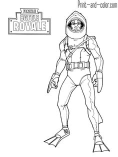 Fortnite Battle Royale Coloring Page Chomp Sr Sheets For Kids Books