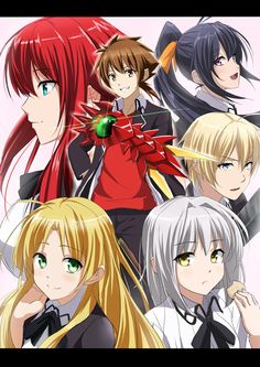1000+ images about Anime: Highschool DxD on Pinterest ...