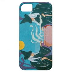 Witch Full Moon Cauldron Night iPhone 5/5S Cover
