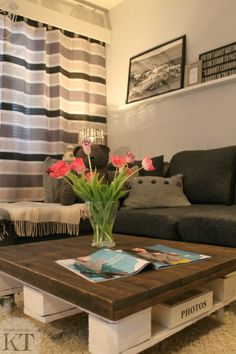 Kotona Tehtyjä: Our Living room