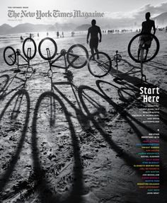 I love everything about this cover. The use of a black and white effect was perfect and really brings out the cool shadows from the bikes. There is really great contrast with the sand and the shadows. This inspires me to find a really visually interesting picture for my cover.