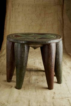 Nupe Stool from Nigeria