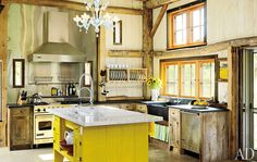 not your typical kitchen.  Love.