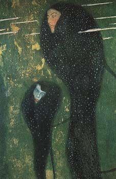 ONDINES de Gustave Klimt, art-nouveau