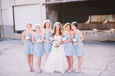 cute dresses/bouquets