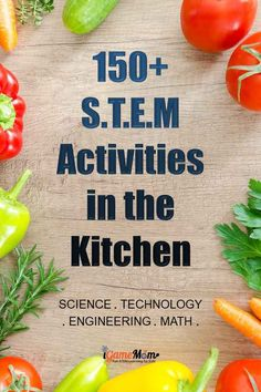Turn kitchen into STEM laboratory at home! Easy summer and winter STEM activities for kids with amazing effects. Great resource for quick science math engineering project ideas at home, school, maker space or science fair. Winter Stem Activities For Kids, Stem For Kids, Kids Learning Activities, Math For Kids, Science For Kids, Learn Science, Steam Activities, Teaching Science, Teaching Ideas