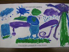 Zilker Elementary Art Class Color Book