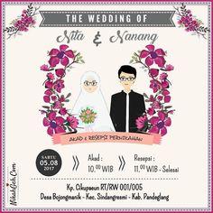78 Ide Contoh Desain Undangan Pernikahan Online HD Terbaru Yang Bisa Anda Tiru