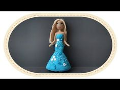 Оформление каркасной куклы. Decoration of crochet doll. - YouTube