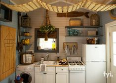 Tiny house kitchen tiny house kitchen best images on kitchens and living table ideas nation appliances . Yurt Living, Tiny House Living, Small Living, Cabin Kitchens, Cool Kitchens, Small Kitchens, Nautical Kitchen, Shed Homes, Tiny Homes
