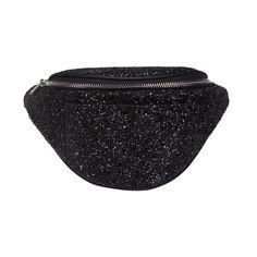 Sofie Schnoor bæltetaske, black glitter
