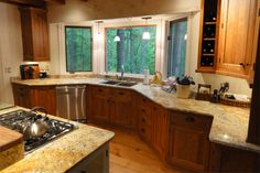In addition to its natural strength, granite is a extraordinarily beautiful stone that adds color and warmth to a room. Although granite countertops are quite popular, a homeowner may not want to spend the premium price for granite, or may live in an area subject to limitations on resale values. In cases like this, discount granite countertops are an attractive option.