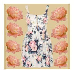 """Dress of the Day"" by applewhite03 ❤ liked on Polyvore featuring art and dressoftheday03"