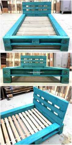 100 DIY Ideas For Wood Pallet Beds: Rehashing is budget friendly and environmentally healthy activity. So get ready to have mesmerizing wood pallet beds at your