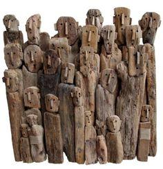O escultor de madeira Marc Bourlier