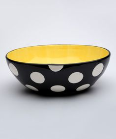Another great find on #zulily! Polka Dot Egg Large Bowl #zulilyfinds