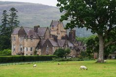 Ardkinglas Estate on Loch Fyne, Scotland. Fred and I toured the beautiful mansion where the movie, THE WATER HORSE, was filmed