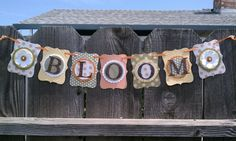Bloom banner with top note die