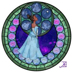 Love these!!! they are like the kingdom hearts stained glass but in different princesses! The Women Of Disney In Faux Stained Glass | The Mary Sue