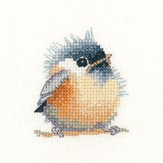 Chickadee – Little Friends Cross Stitch Kit By Heritage Crafts