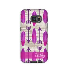 Boho Galaxy S7 Edge case/S7 case watercolor by EpigramCases