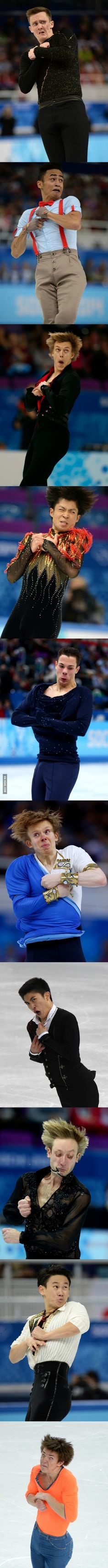 Become a figure skater they said. it will be fun they said hahaha omg the last one