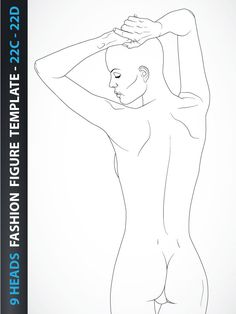Fashion figure from the back view. You can download whole image on our web page.