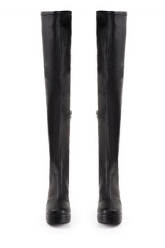 Jeffrey Campbell Shoes FOSSE Boots in Black