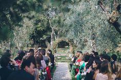 A Temperley Dress for a Flower-Filled and Rustic Italian Wedding | Love My Dress® UK Wedding Blog