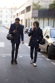 The best looks in the French capital, shot by our photographer Robert Spangle. January 2016.
