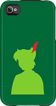 Peter Pan iPhone Case by sonicsandwands