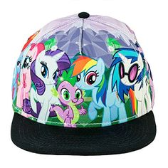 4eef0e8381f Amazon.com  My Little Pony Brony Sublimated Snapback Hat  Clothing