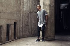 "adidas Originals Tubular 2015 Fall/Winter ""Concrete Maze"" Editorial"