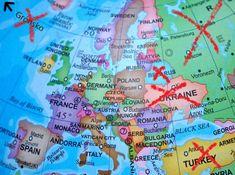 akedonie, Srbsko, Kosovo (pouze občanský průkaz se strojově čitelnými údaji a elektronickým čipem), Mo Warsaw, Oslo, Stockholm, Finland, Denmark, Belgium, Norway, Sweden, Germany