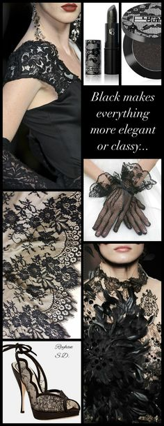 '' Black Lace '' by Reyhan S.D.