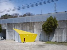 Baños públicos del parque Hiroshima Park de Future Studio en Hiroshima, Japón