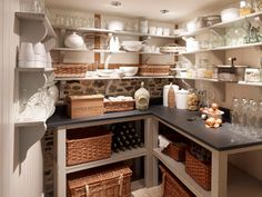 Love the willow picnic baskets or trunks - have seen some like this in Laura Ashley.