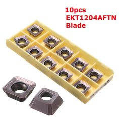 [US$23.45] Drillpro 10pcs SEKT1204AFTN Tungsten Steel Inserts CNC Milling Insert Lathe Tool  #10pcs #drillpro #insert #inserts #lathe #milling #sekt1204aftn #steel #tool #tungsten