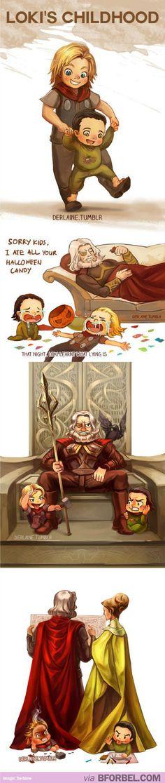 Loki's Childhood…