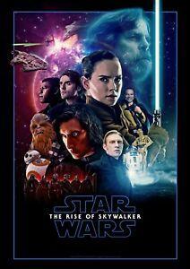 Details About Star Wars The Rise Of Skywalker Movie Poster 2019 New 11x17 13x19 Star Wars Poster Star Wars Watch Star Wars Fan Art