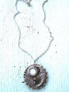 Moondance Necklace 3 by lesliejanson on Etsy