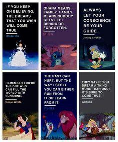 Disneys messages.