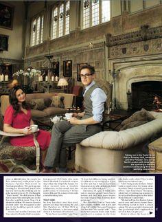 Tom Fletcher  Giovanna Fletcher in HELLO! Magazine 2013 #2.