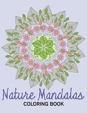 IN OZ Nature Mandalas Coloring Book Creative Designs and Patterns Coloring Books