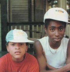 Tupac & Yaki Kadafi...#oldschool #throwback