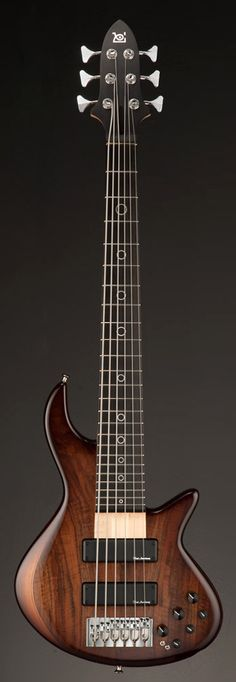 XOTIC XB-2 6 String Brown Burst Bass