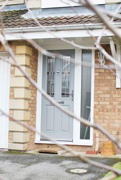 Light Grey Composite Door Installation | Grey Composite Door | Grey Wooden Doors | Modern Door Designs | Classical Door | Grey Composite | Grey Door | Grey UPVC Door Design