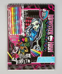 <p+style='margin-bottom:0px;'>Fans+of+Monster+High+cancreate+their+own+gallery+of+art+with+the+help+of+this+poster+set.+Great+as+an+indoor+project,+the+included+set+of+markers+colors+in+each+velvet+scene.<p+style='margin-bottom:0px;'><li+style='margin-bottom:0px;'>Includes+six+posters+and+six+markers<li+style='margin-bottom:0px;'>Plastic+/+cardboard<li+style='margin-bottom:0px;'>Recommended+for+ages+7+years+and+up<li+style='margin-bottom:0px;'>Imported<br+/>